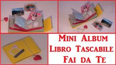 DIY Mini Album - Libretto Tascabile Fai da Te - DIY Pocket Book