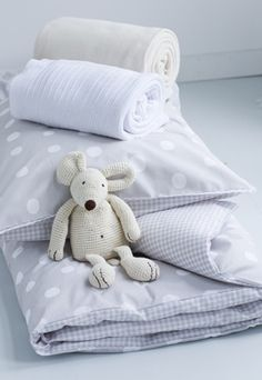 babykamer en #kinderkamer | Trendy duvet cover for the #nursery and #kidsroom