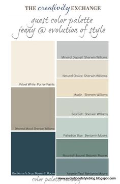 LOVE these colors! This is what I want for my living room, kitchen, dining room, and hall way