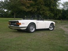 My old TR6 stage 3 170 BHP