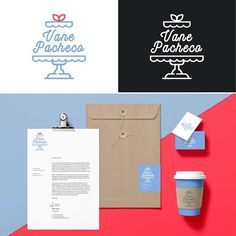 Logo para Vane Pacheco 🍰🎂 #bakery #kaleidovisuals #logodesinger #diseñomexicano #identity #foodbranding  #branding #logodesign #design #designer #colour #logo #cupcake #cake #type