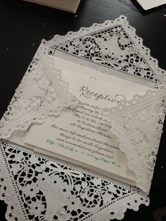 DIY Lace Envelopes @Jacqueline Elizabeth