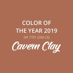 Get lost in the layers of Cavern Clay SW the Sherwin-Williams 2019 Color of the Year. Copper Paint Colors, Taupe Sofa, Clay Paint, Mid Century Modern Decor, Pallet Painting, Paint Samples, House Paint Exterior, Color Balance, Paint Party