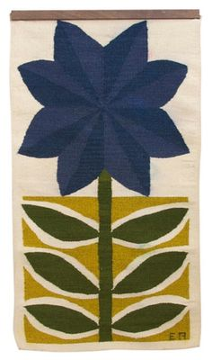 Evelyn & Jerome Ackerman; Wool Wall Hanging, 1960s.
