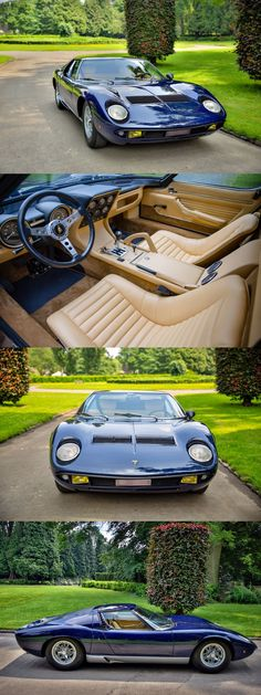 Classic Car News Pics And Videos From Around The World Lamborghini Miura, Bugatti, Alpha Romeo, Car Car, Aston Martin, Sport Cars, Exotic Cars, Mazda, Cars And Motorcycles