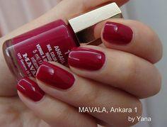 Mavala Nail Polish, Nail Polish Colors, Pretty Nails, Ankara, Eye Makeup, Make Up, Nail Art, Noms, Beauty