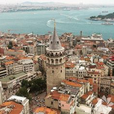 Istanbul , Galata Tower / Mustafa Seven. The Places Youll Go, Places To See, Hagia Sophia, Turkey Travel, Travel Images, Istanbul Turkey, Beautiful Places To Visit, Adventure Is Out There, Wonders Of The World