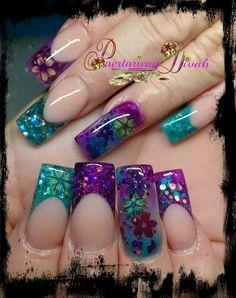 Fabulous Nails, Gorgeous Nails, Trendy Nails, Cute Nails, Organic Nails, Diy Nail Designs, Ballerina Nails, Luxury Nails, Best Acrylic Nails