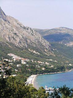 Barbati beach, Corfu, north of corfu town, about 12 miles up the coast
