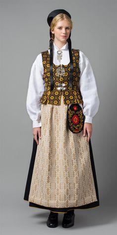 FolkCostume&Embroidery: Overview of Norwegian costume, part 4 The North Norwegian Clothing, Costume Ethnique, Frozen Costume, Folk Clothing, Folk Costume, Muslim Women, Traditional Dresses, Textiles, Ukraine