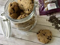 Recept: Gyors, cukormentes amerikai cookies   Stop Sugar Healthy Recipes, Healthy Foods, Sugar Free, Muffin, Ice Cream, Sweets, Cookies, Cake, Minden