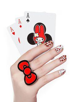 NCLA - Hello Kitty Bows Nail Wraps