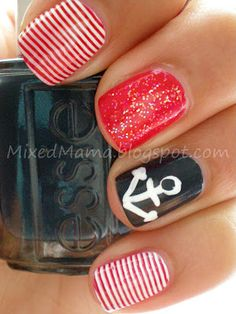 red sailor mani