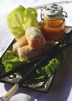 Testez la version croustillante des rouleaux de printemps : des nems 100 % végétariens et sans friture ! Fini la culpabilité avec cette recette diététique !