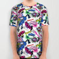 Pop Art Boom!!! All Over Print Shirt