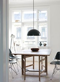 Scandinavian white & black