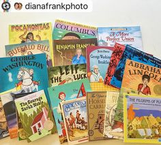 #Reposting @dianafrankphoto with @instarepost_app -- Our history books came in the mail today! So excited to dive into this with my girls. #ilovehistory #charlottemason #homeschooling #wildandfree #beautifulfeethistory #classicalliterature #livingbooks #classicaleducation @naomimangan thanks for the recommendation!