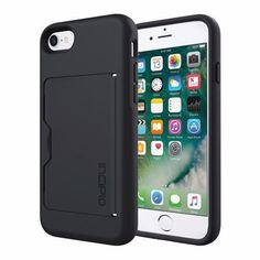 Incipio Black Stowaway Phone Case 7
