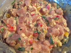 Siekane kotleciki drobiowe z majonezem i papryką - Blog z apetytem Potato Salad, Chicken Recipes, Food And Drink, Cooking Recipes, Tasty, Dinner, Ethnic Recipes, Blog, Diet