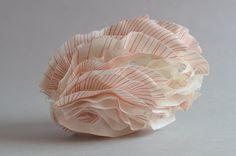 Françoise Joris, Céramique, Porcelaine, Papier porcelaine, Ceramic, Porcelain, Paper clay