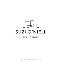 Excited to share this item from my shop: Real Estate Marketing - Real Estate Business Tools - Real Estate Logo Design - Abstract Logo - Real Estate Logo Design, Real Estate Branding, Real Estate Business, Real Estate Marketing, Letterhead Design, Branding Design, Logo Branding, Business Logo, Business Card Design
