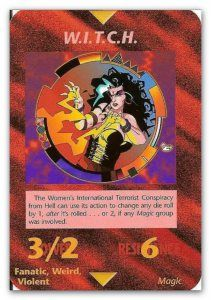 Illuminati Card WITCH Reminds me of little miss spirit cooking.