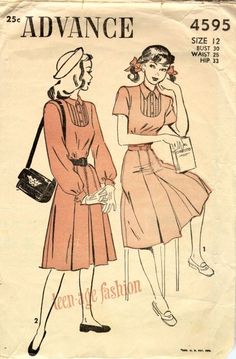 1940s teen fashion