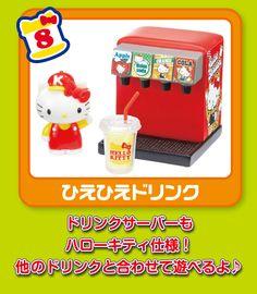 Re-Ment Miniatures - Hello Kitty Burger Shop #8