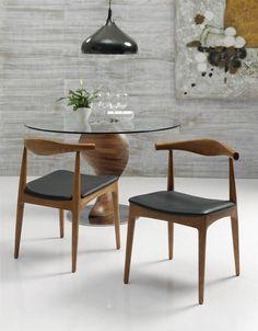 Spisebordstoler i tre CALISTO. www.dekorasjondesign.com , din komplette nettbutikk av design møbler og spisebordstoler i tre. (bilde 1)