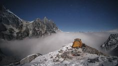 This harrowing expedition pushed a group of mountaineers to the mental and physical brink; carving them Down To Nothing. A six-person team from The North Face and National Geographic attempted to summit an obscure peak in Myanmar (Hkakabo Razi) to determine if it is Southwest Asia's highest point.