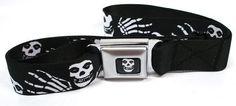 Misfits Band Seatbelt Belt, http://www.amazon.com/dp/B00CMDL29Q/ref=cm_sw_r_pi_awdm_YboQub0VDK6XG
