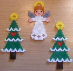 Christmas trees and angel   Flickr - Photo Sharing!