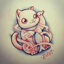 Resultado de imagen para maneki neko new school tattoo