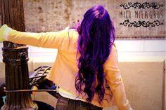 Pelo Violeta - pelo morado