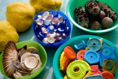 Things to use in play with playdough