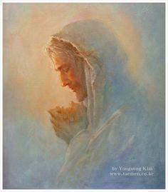 Prayer 2013 53×45.5cm oil on canvas........... by Yongsung Kim