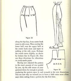 correcting baggy pants