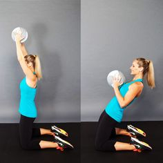 The Tank Top Arms Workout- Doesn't take much time to do these and you def feel it.