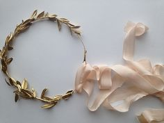 How to Make a Gold Leaf Crown | Fly Away Bride