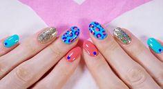 Cute diy colorful nails