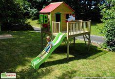 Maison Enfant Bois et Plastique Diane