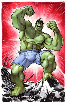 The Hulk by Yildary Cinar *