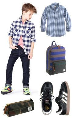 This is totally a Will outfit!  Already have the shoes!  Little Man | Crew Cuts