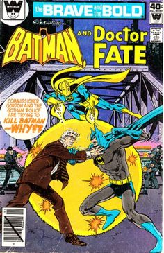 The Brave and the Bold (Vol 1 #nnn). Batman / Doctor Fate
