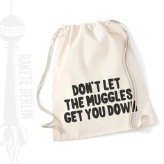 Turnbeutel mit Spruch // quote gym bag via DaWanda.com