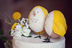 Items similar to Custom Felt Bird Cake Toppers on Etsy Bird Cake Toppers, Wedding Cake Toppers, Wedding Cakes, Cute Wedding Ideas, Diy Wedding, Wedding Inspiration, Love Birds Wedding, Floral Wedding, Bird Cakes