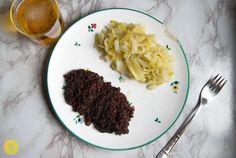 back to the roots. Młoda kapusta – Süßes Jungkraut mit Blutwurst