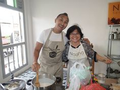 Naz & Norman join forces teaching a class! Cooking Classes, Norman, Singapore, Join, Teaching, Education, Onderwijs, Learning, Tutorials