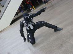 Agent Venom cosplay
