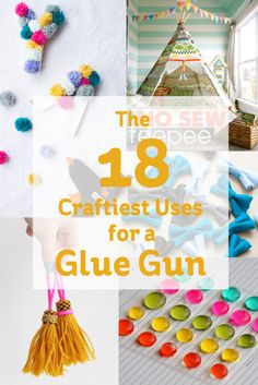 Craftiest Uses for a Glue Gun #GlueGun
